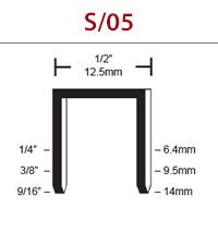 RAPTOR® S/05 Composite 19 Gauge Staple